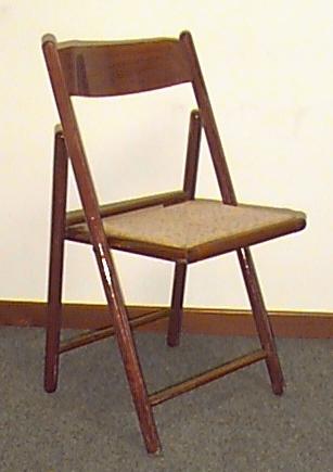 Sedie Regista e pieghevoli in legno - danielecroppo