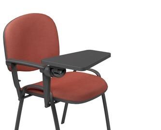 Sedie imbottite con tavoletta scrittoio bracciolo singolo for Sconti sedie