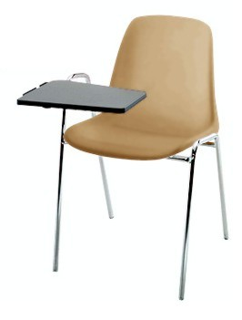 Sedie imbottite con tavoletta home danielecroppo - Sedie per ufficio usate ...