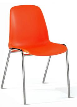 Sedie in plastica grigie danielecroppo for Sedie imbottite grigie
